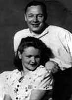 1939, With wife Vera